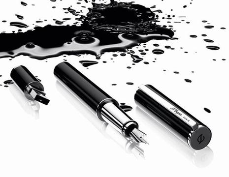 Création de la Jokette St-dupont-stylo-plume-usb-luxe