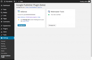 google webmaster tool wordpress